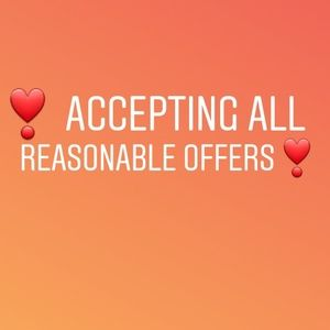 REASONABLE!Make me an offer I can't refuse 👩💻🤝